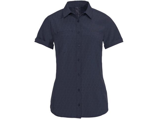 VAUDE Rosemoor Camiseta Mujer, azul